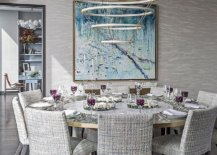 Fabulous-contemporary-dining-room-in-neutral-hues-and-a-round-dining-table-along-with-smart-chandelier-47715-217x155