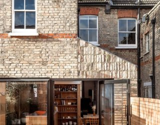 Modern Classic: Cheerful Recycled Brick Extension of North London Home