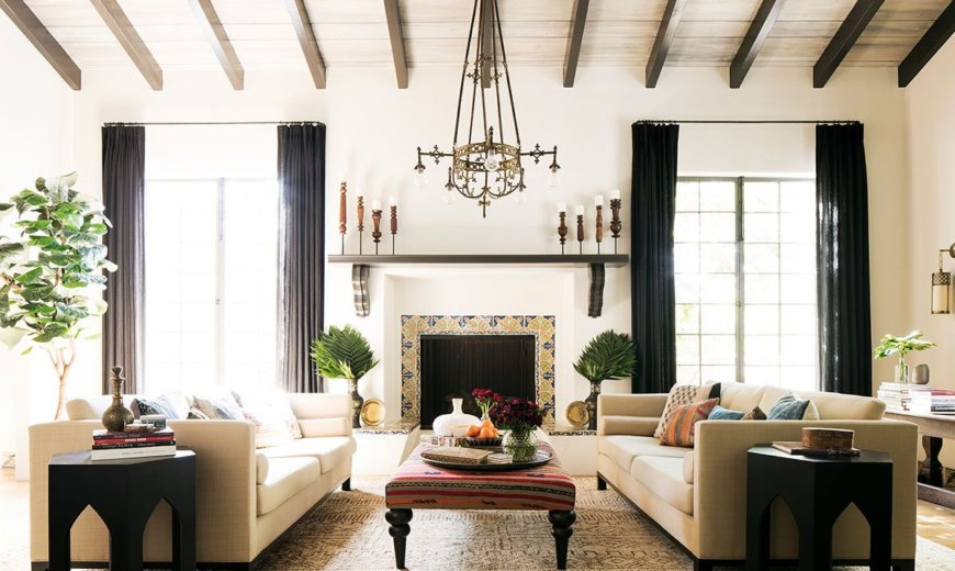 Timeless Chic: Sensible Renovation of Historic Spanish Revival Home in Santa Monica