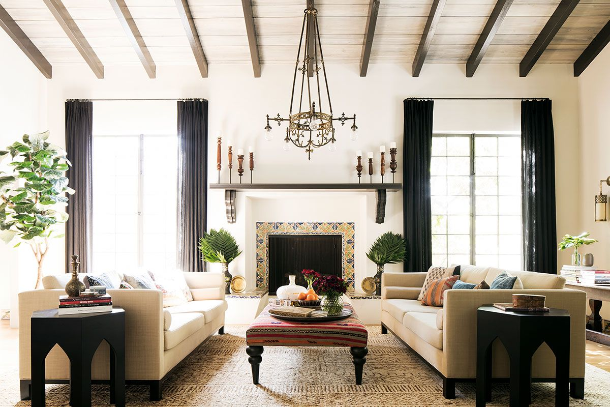 Mediterranean-style-living-room-of-the-Spanish-Revival-home-in-Santa-Monica-that-has-sensibly-renovated-18626