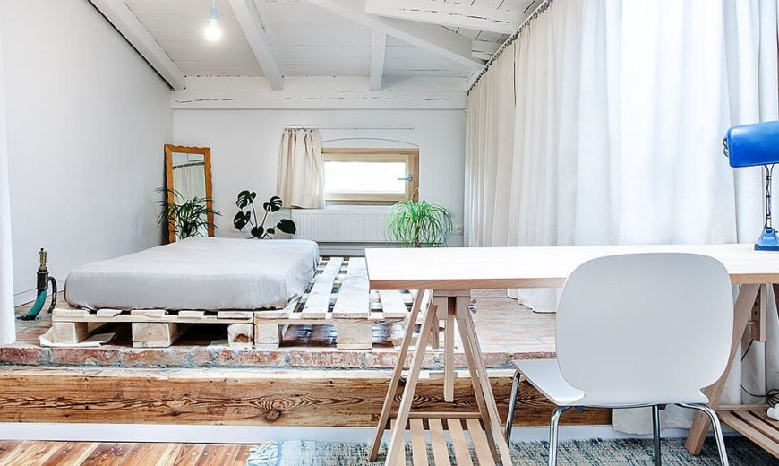 Refurbished Attic of Single-Family Home Functions as an Independent Apartment!