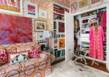 Multi-colored-walls-and-decor-add-to-the-brilliant-appeal-of-this-small-eclectic-closet-that-still-captivates-24686-217x155