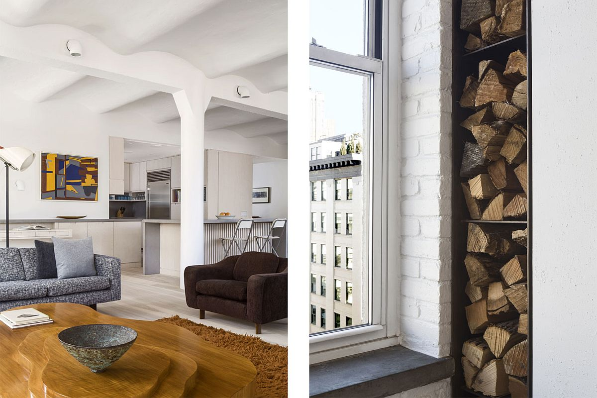 Original-vaulted-concrete-ceiling-and-a-steel-clad-fire-door-of-the-revamped-New-York-City-apartment-16903