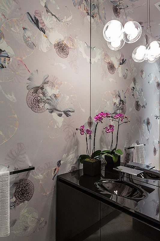 Powder-room-with-wallpaper-that-adds-color-and-pattern-to-the-small-space-35084