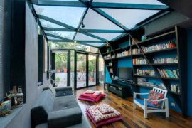 Small Contemporary Home Library Ideas Filled with Color and Creativity