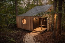 Renting Solitude: Small Woodsy Forest Cabin Provides the Perfect Escape