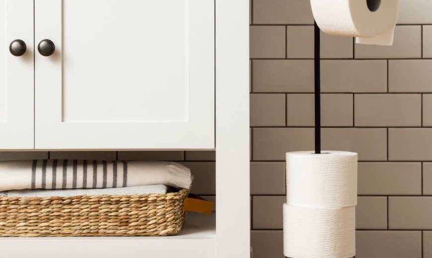 Upgrade Your Bathroom with a New Toilet Paper Holder