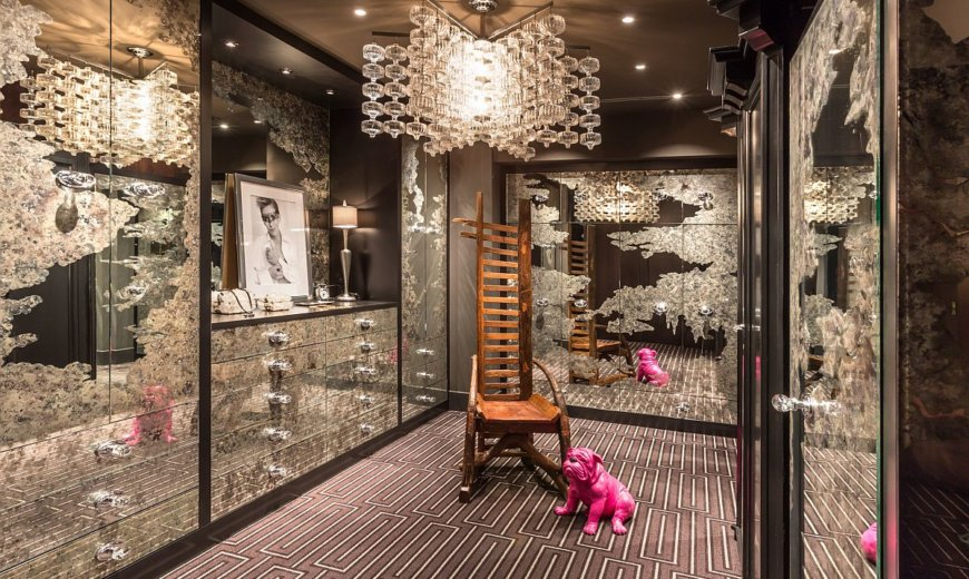 Luxurious and Edgy Eclectic Closets that are Just Spectacular!