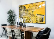 Wall-art-in-this-dining-room-adds-bright-yellow-to-a-black-and-white-space-13452-217x155