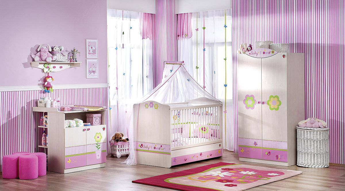 Awesome-contemporary-nursery-inspired-by-autumn-violets-along-with-splashes-of-pink-36589
