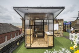 Tiny Pop-Up Provides Small Living and Workspace Solutions with Amazing Modularity
