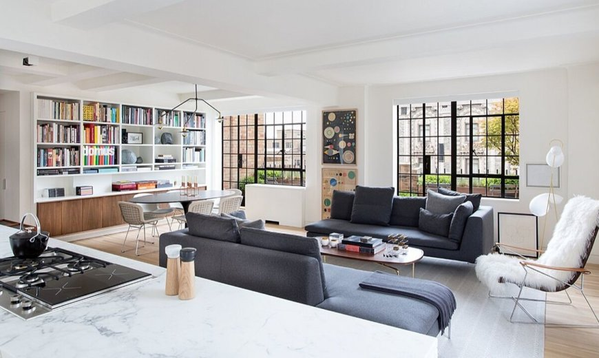 Modern Flamboyance Meets Curated NYC Charm Inside this Revamped 30's Apartment