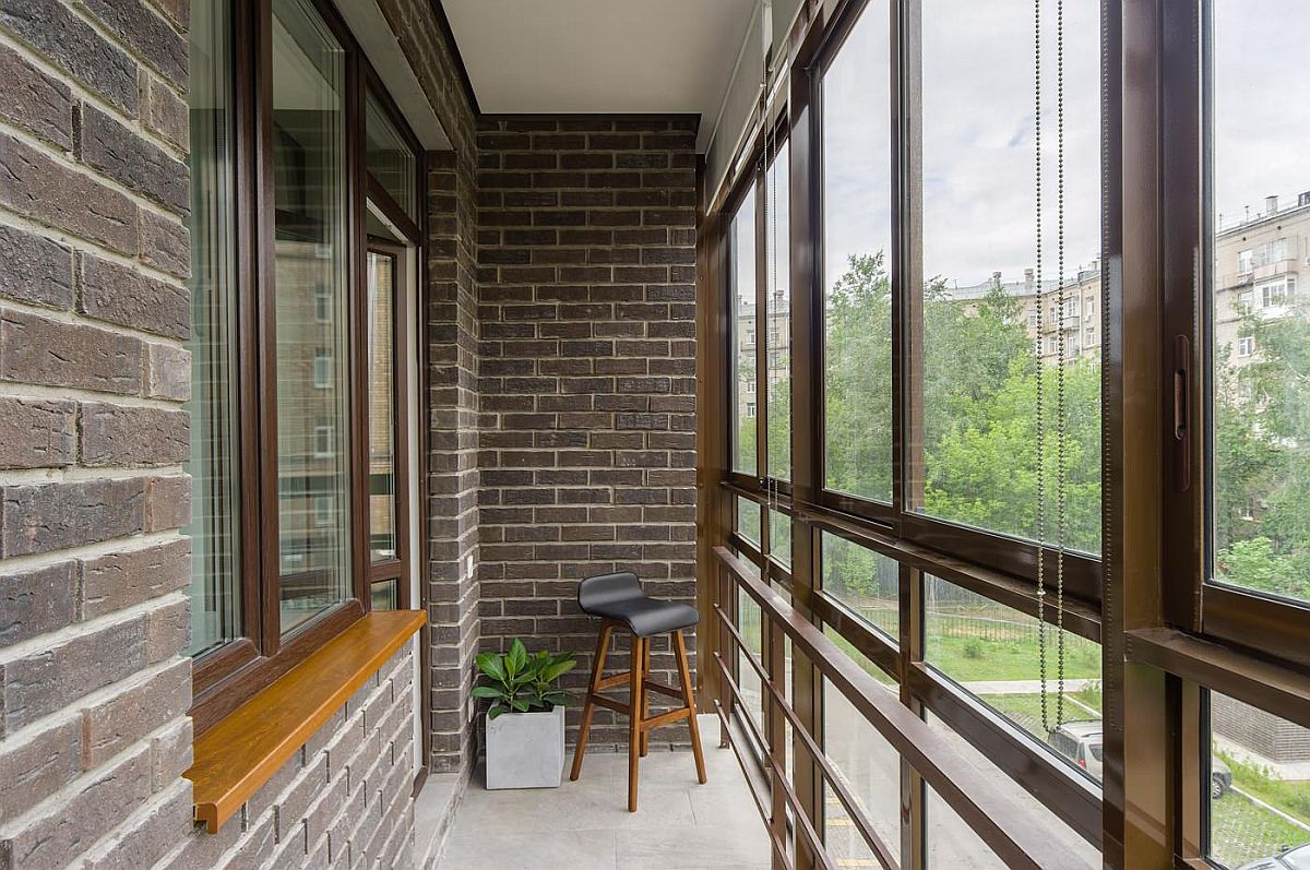 Convert that smart and small balcony into a lovely sunroom this fall