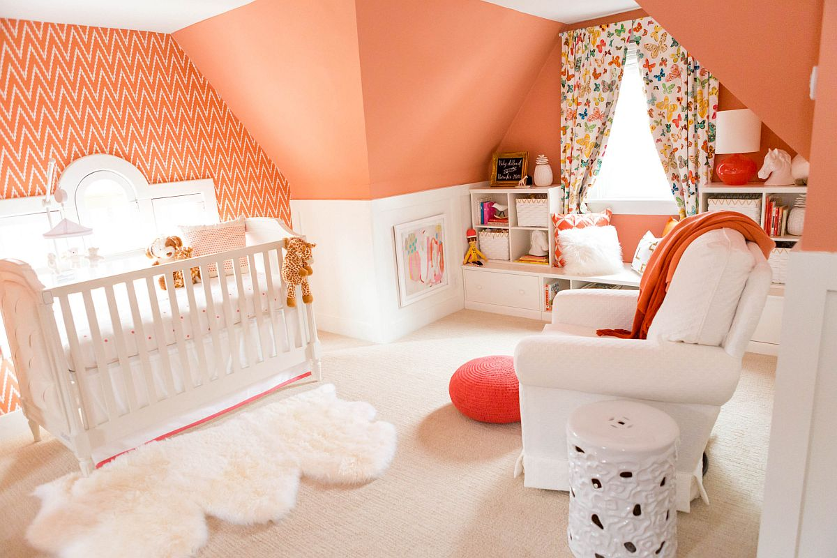 Coral-is-the-perfet-color-for-the-modern-aad-beach-style-nursery-with-a-bright-cheerful-appeal-22652