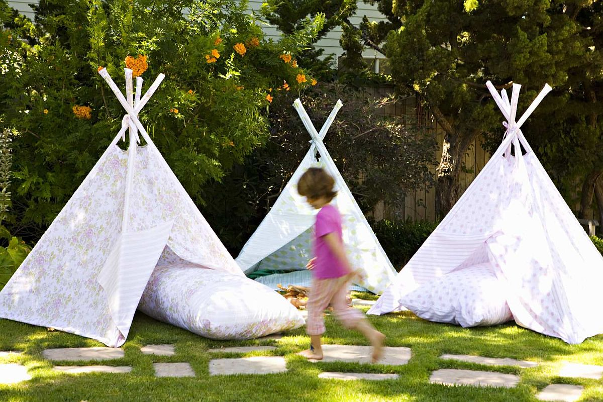 Cost-effective and easy way to create a more kid-friendly backyard that they will love