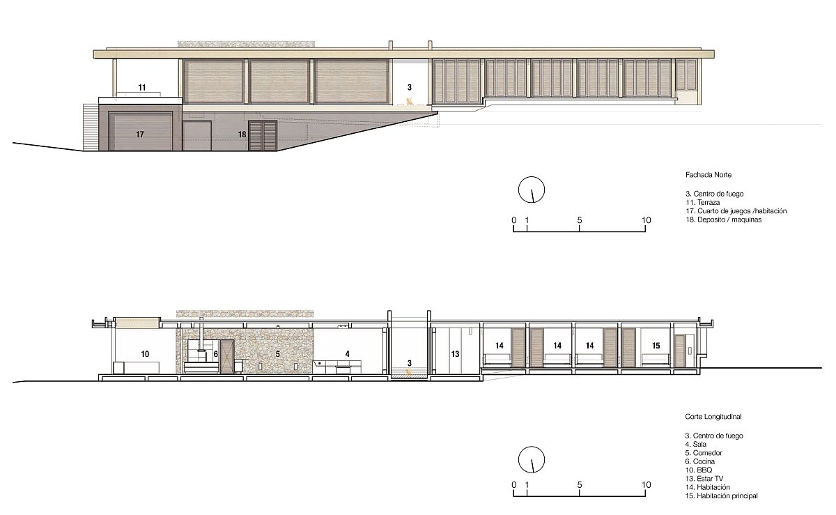 Design plan of VO House in Columbia