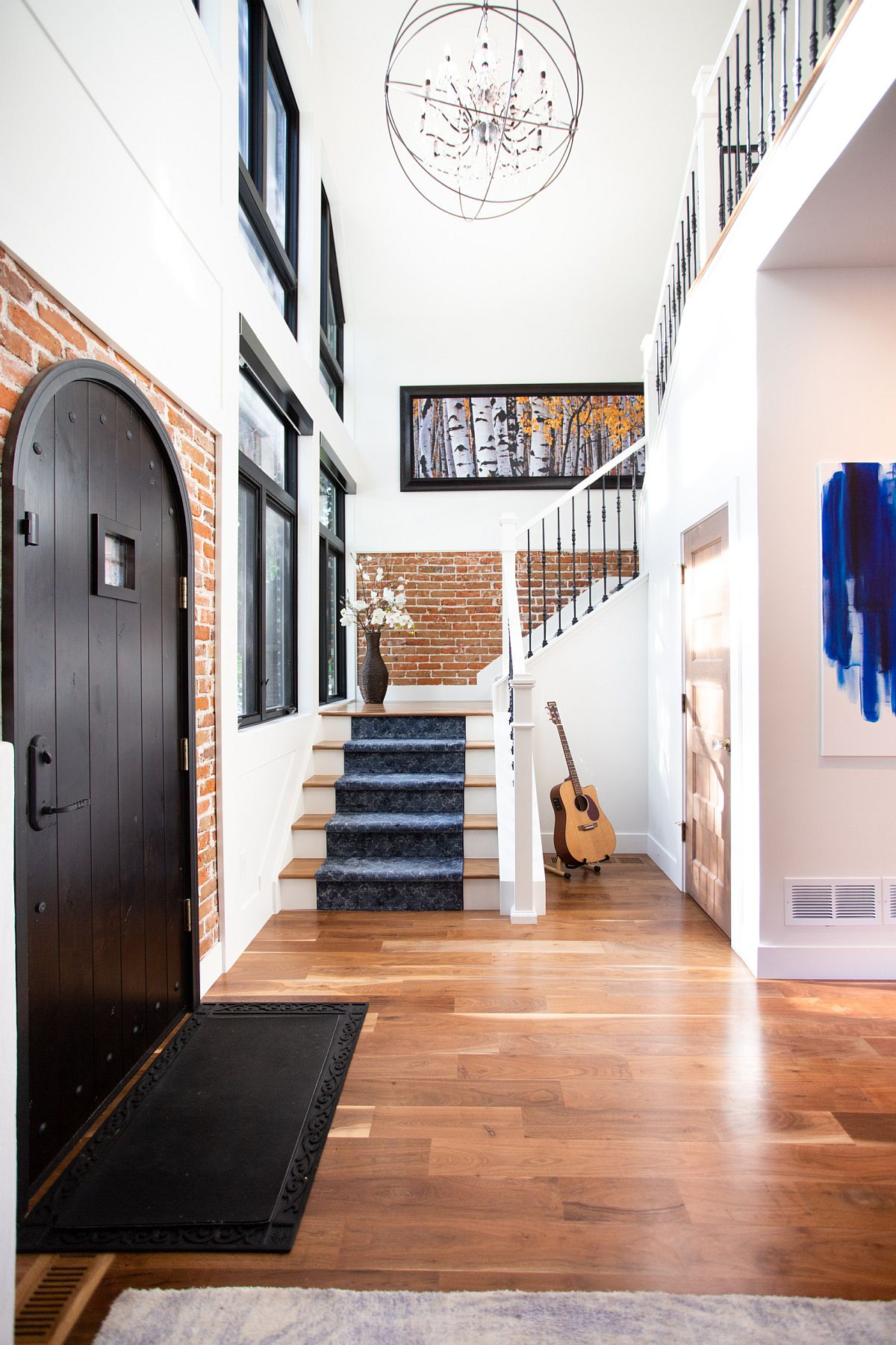 A Bit Of Brick For The Entryway From Beautiful Walls To Lasting Floors