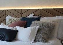 Gorgeous-wood-headboard-with-herringbone-pattern-and-lovely-LED-strip-lighting-66592-217x155