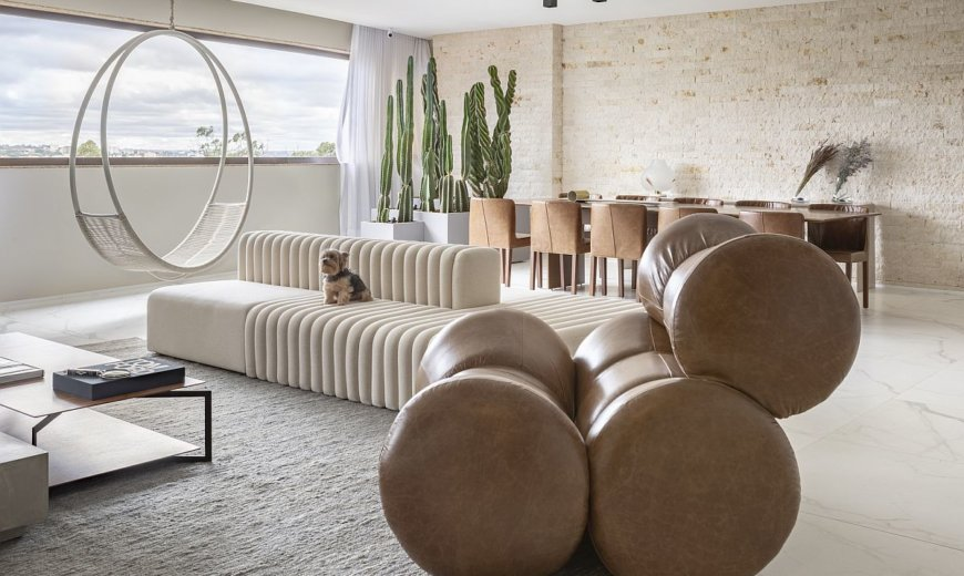 FF Apartment: Sophisticated Contemporary Home with a Social Kitchen at its Heart