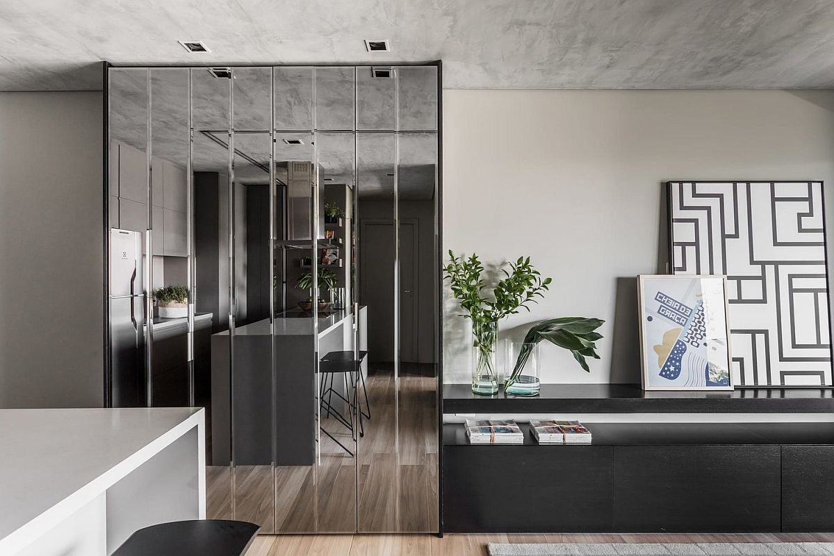 Mirrored-cabinet-door-give-the-interior-of-the-apartment-a-more-spacious-visual-appeal-57741