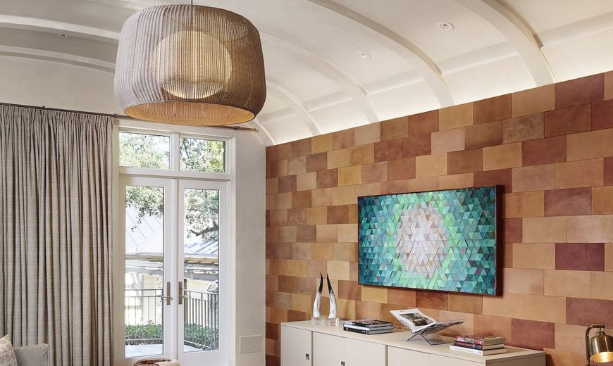 Modern Minimal Makeover of 90's Residence atop Westlake Cove in Austin