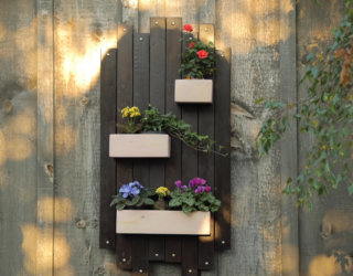 DIY Hanging Wall Planter Will Add The Perfect Vintage Flare