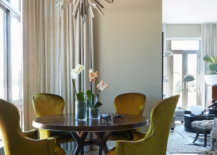 Small-contemporary-dining-room-of-NYC-condo-with-bright-yellow-green-chairs-that-add-an-air-of-luxury-16735-217x155