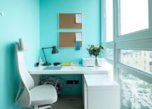 Tiny-home-office-of-Moscow-apartment-with-lovely-blue-walls-along-with-floor-to-ceiling-glass-walls-52533-217x155