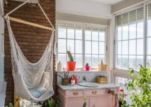 Tiny-shabby-chic-sunroom-with-bright-pops-of-color-and-a-hammock-in-the-corner-13044-217x155