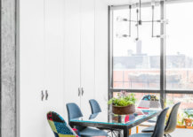 Two-multi-colored-chairs-add-contrast-to-this-small-contemporary-dining-room-in-neutral-hues-86997-217x155
