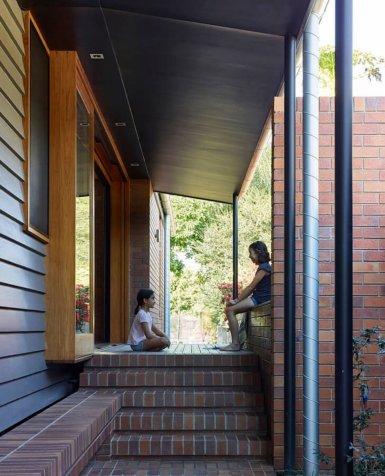 desain rumah bata merah tanpa plester - minimalis123