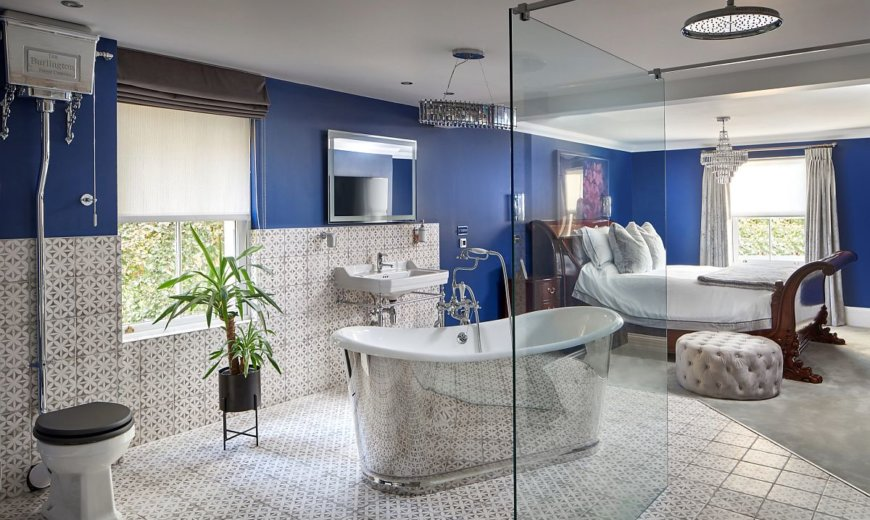 Must-Try Bathroom Trends of 2020: Beating Blues