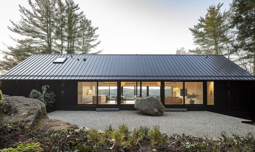 Ledge House: Vernacular Design and Mesmerizing Views Meet Modern Aesthetics