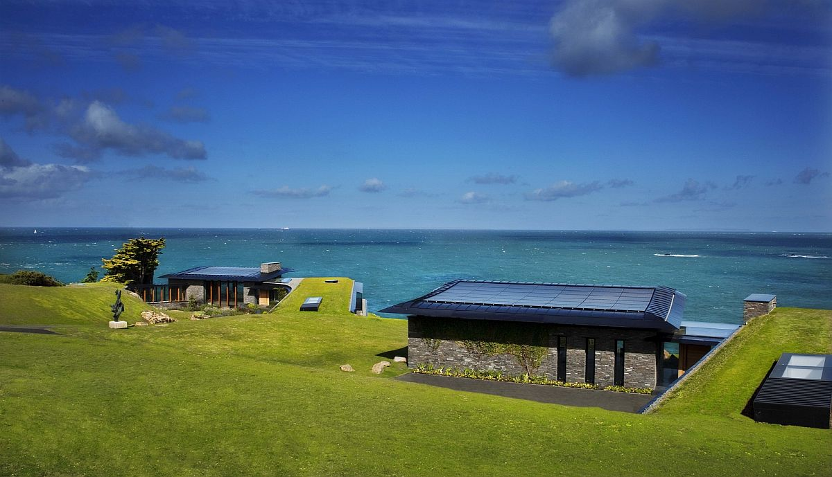 Eco-friendly and off-grid Logie Point House designed by Guz Architects in Jersey