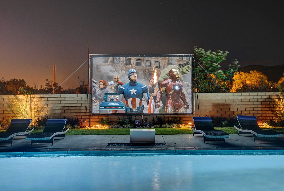 Finding a space for your home theater on the pool deck