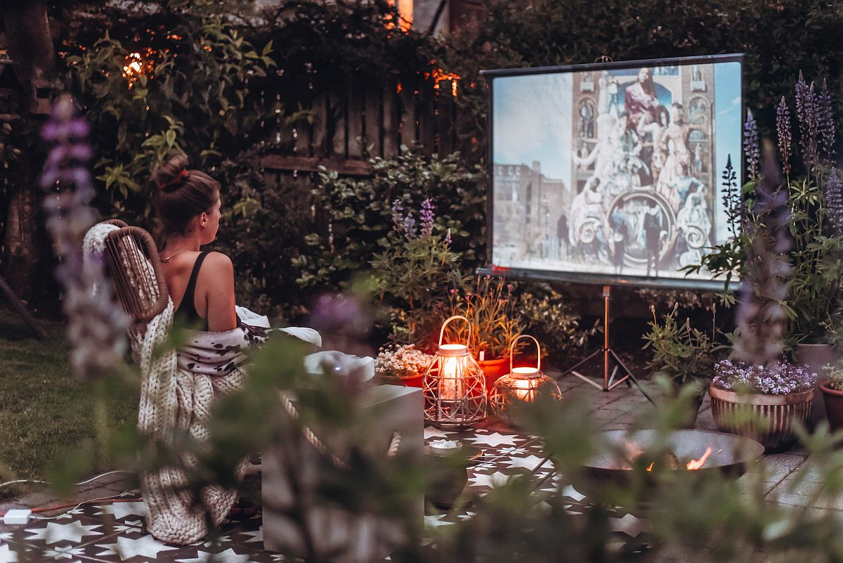 Outdoor Cinematic Experience at its Luxurious Best: Stay Entertained at Home