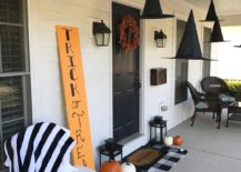 Simple-way-to-decorate-the-front-porch-for-Halloween-with-witch-hats-and-a-few-pumpkins-66365-217x155