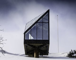 Diamond in the Mountains: Minimalism Meets Nordic Simplicity in Central Norway