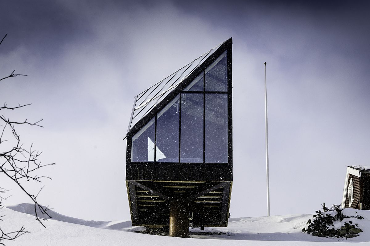 Stunning Diamanten Cabin designed by A38 Arkitekter in Oppdal, Norway