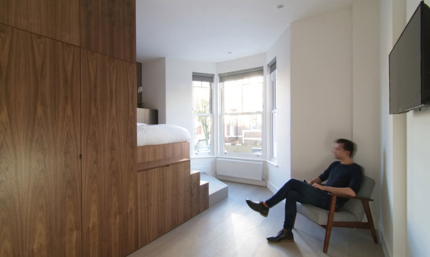 Hub Living: Victorian Terraced House Turned into 11 Custom, Clever Bedsits