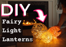 Decoist DIY: Fairy Light Lanterns