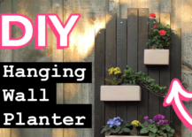 Decoist DIY: Hanging Wall Planter