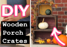 Decoist DIY: Wooden Porch Crates