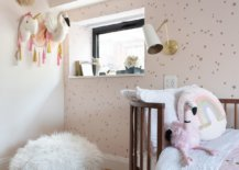 Chic-kids-berdoom-of-New-York-home-with-elegant-wallpaper-and-a-dash-of-muted-pink-28874-217x155