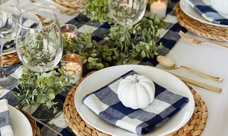 Thanksgiving Table Decor Ideas: The Best Choices For Your Festive Feast