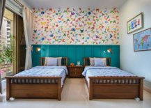 Multicolored-wallpaper-in-the-kids-room-adds-pattern-without-taking-away-from-a-sense-of-sophistication-96504-217x155