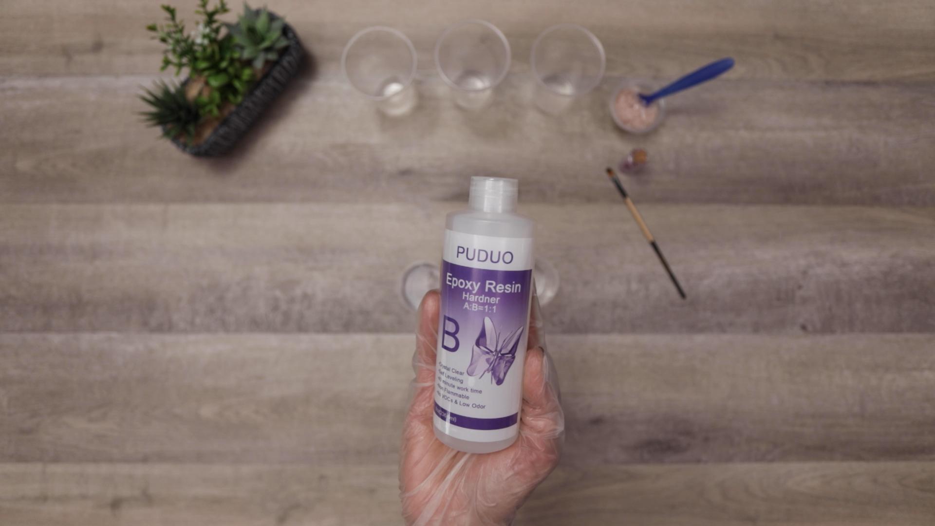 bottle b for resin art hardner