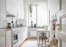 Super-small-breakfast-zone-for-the-small-apartment-kitchen-in-white-35027-217x155