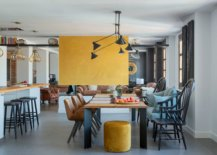 Vibrant-yellow-fireplace-wall-brings-accent-color-to-this-dining-room-86895-217x155