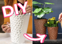 Decoist DIY: Faux Copper Planter